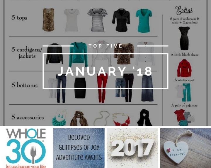 Top 5: January2018